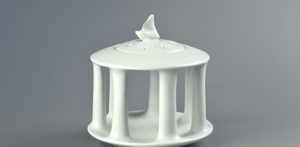 Boîte à colonnes xavier duroselle porcelaines