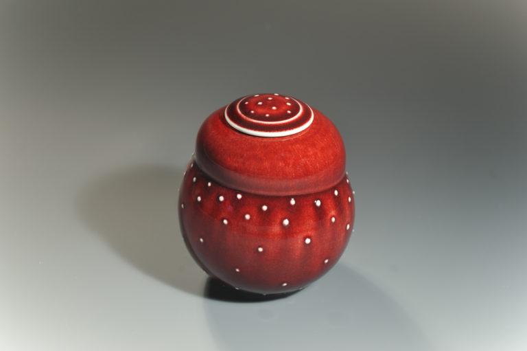 Boîte ronde xavier duroselle porcelaines
