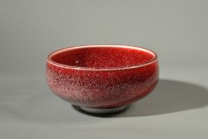 Coupe a cristaux xavier duroselle porcelaines