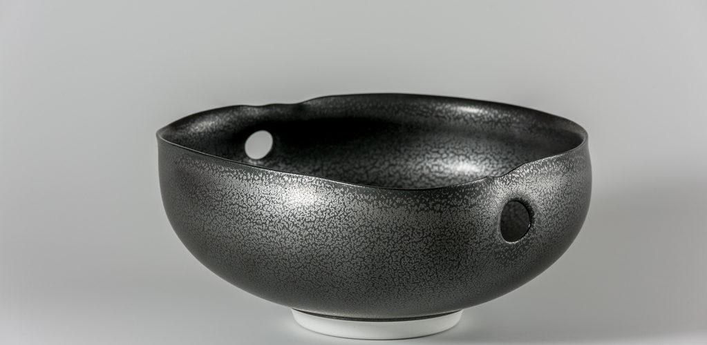 Bol noir xavier duroselle porcelaines