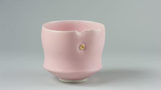 Bol droit rose xavier duroselle porcelaines