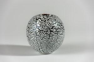 Craquelé noir xavier duroselle porcelaines