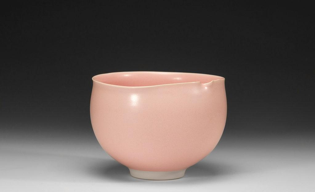 Bol rond rose xavier duroselle porcelaines