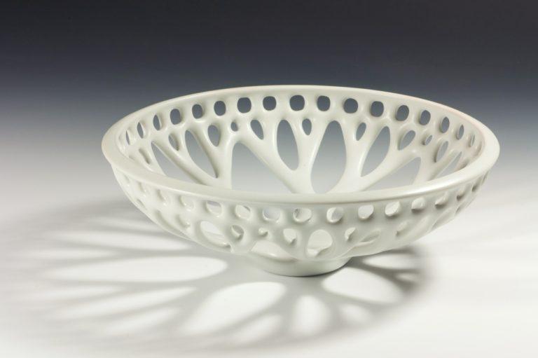 Coupe ajouree xavier duroselle porcelaines