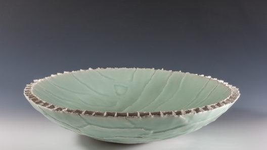 Coupe à double paroi celadon xavier duroselle porcelaines