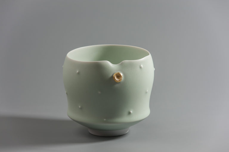 Bol clair celadon xavier duroselle porcelaines