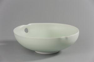 Coupe claire celadon xavier duroselle porcelaines