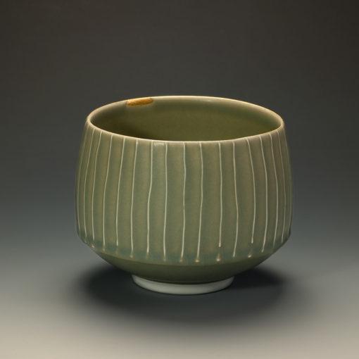 Bol cannelé celadon xavier duroselle porcelaines