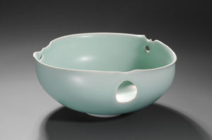 Coupe celadon xavier duroselle porcelaines